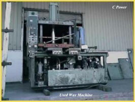 Used Wax Machine
